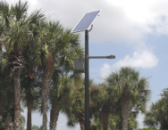 Silver Lakes Solar Street Lighting