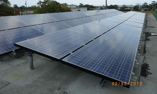 10 Kilo Watt Commercial Solar Electric PV Project